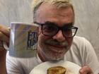 Walcyr Carrasco, autor de 'Êta Mundo Bom', começa dieta e brinca: 'Socorro'