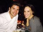 Hilary Swank festeja aniversário com ex-participante do 'The Bachelor'
