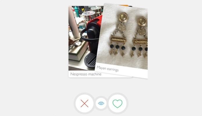 Tradr quer ser Tinder para objetos usados, como um brechó virtual (Foto: Divulgação/Tradr)