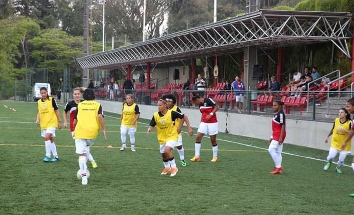 Complexo Social do Morumbi futebol feminino (Foto: Divulgação)