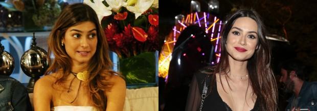 Thaila Ayala na Malhação em 2007 e hoje (Foto: TV Globo/ João Miguel Júnior | Felipe Panfili/ Divulgação)