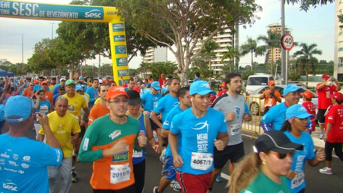 Meia Maratona Sesc AM (Foto: Divulgação)
