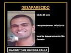 Nizo Neto conta que filho está desaparecido e faz apelo na web
