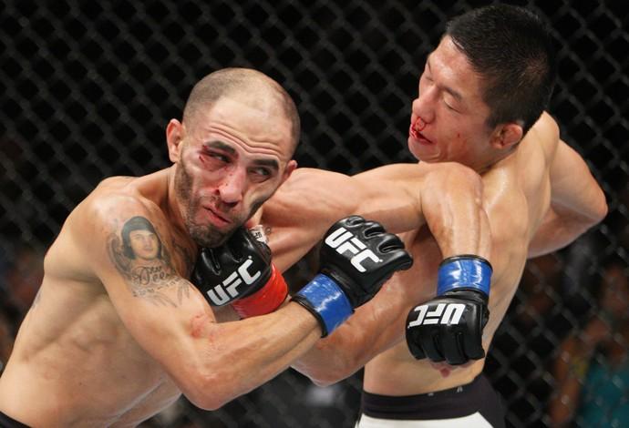 Kyoji Horiguchi Chico Camus UFC (Foto: Getty Images)