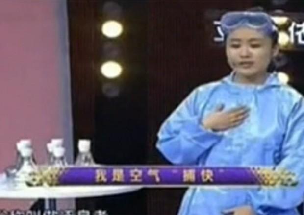 TV local exibe detalhes sobre a vaga profissional dos especialistas em odores (Foto: Reprodução)