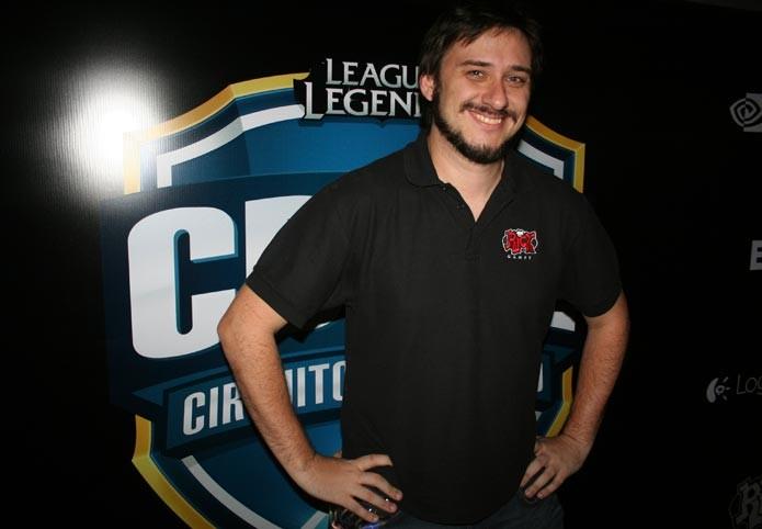 Bruno Vasone, gerente de eSports da Riot Games Brasil (Foto: Feipe Vinha)