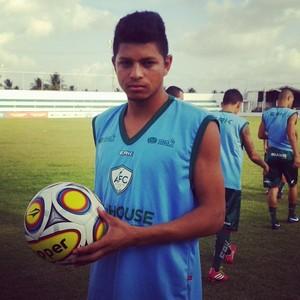 Felipe Alves, atacante do Alecrim (Foto: Divulgação/Alecrim)