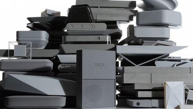 Microsoft criou 75 protótipos do Xbox One com impressora 3D antes de chegar ao design final do videogame. (Foto: Divulgação/Microsoft)