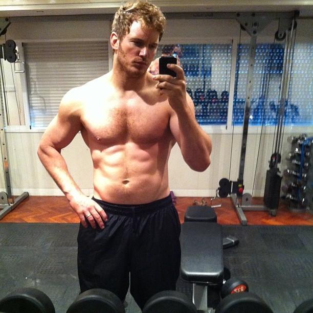 Chris Pratt (Foto: reprodução/instagram)