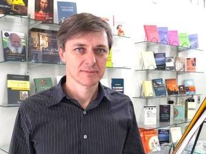 Zulmar Wernke organizou pesquisa sobre hábitos de leitura em Minas (Foto: CML/Divulgação)