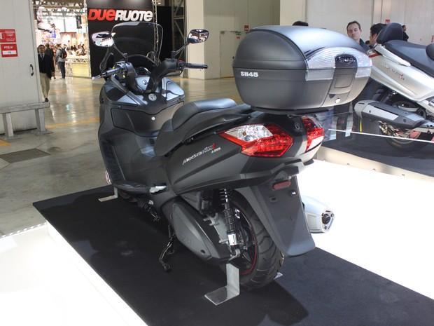 G1 - Novidade em Milão, Maxsym 600i será vendido pela Dafra no