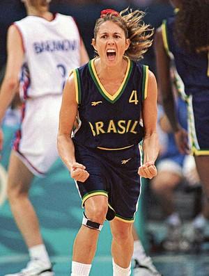 Hortência Basquete mundial 1994 (Foto: Divulgação / CBB)