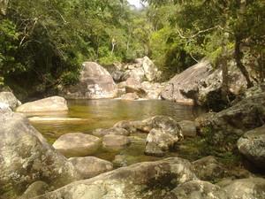 Poço Paraíso no Parque Nacional da Serra dos Órgãos (Foto: Mariano Sant'anna)