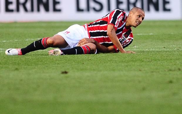 Luis Fabiano Corinthians x São Paulo (Foto: Marcos Ribolli / Globoesporte.com)