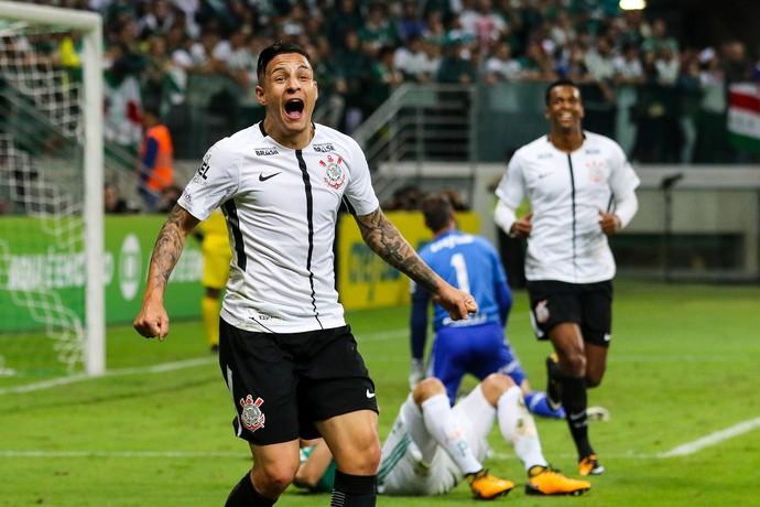 Palmeiras x Corinthians Arana gol (Foto: Agência Estado)
