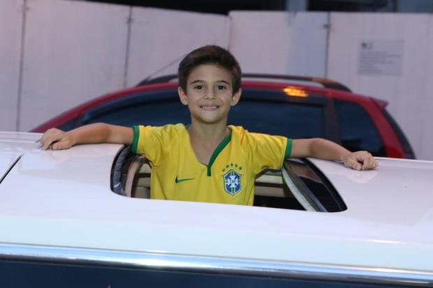 Festa de Záion, filho de Fábio Jr e Mari Alexandre (Foto: Thiago Duran / AgNews)