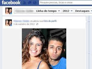 Thaís e Júnior saíram de casa durante a madrugada e não voltaram mais (Foto: Facebook/Reprodução)
