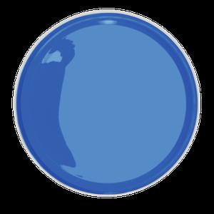 O azul vibrante Arquipélago é a escolha da Eucatex. A marca apresentou outras 20 cores, divididas em quatro grupos. A partir de R$ 103 o galão com 3,2 L (Foto: Divulgação)