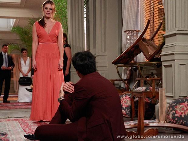 Paloma quer que F�lix pague por seu crime (Foto: Ellen Soares/ TV Globo)