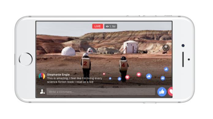 Facebook poderá transmitir vídeo ao vivo em 360º (Foto: Reprodução/Facebook)