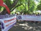 Agricultores participam de ato em combate a violência à mulher em SE