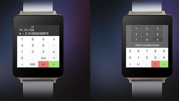 Wear Calc para Android Wear