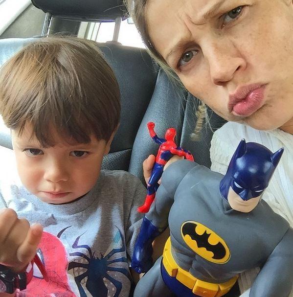Luana e o primogênito Dom (Foto: Arquivo pessoal)