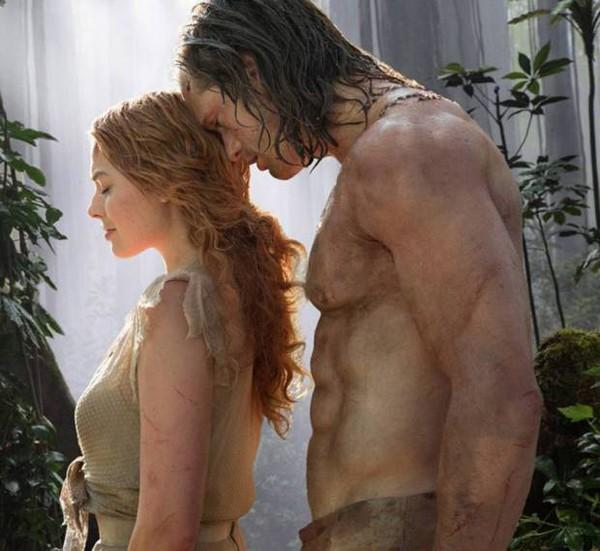 """Cena do filme """"A lenda de Tarzan"""", (Foto: Reprodução)"""