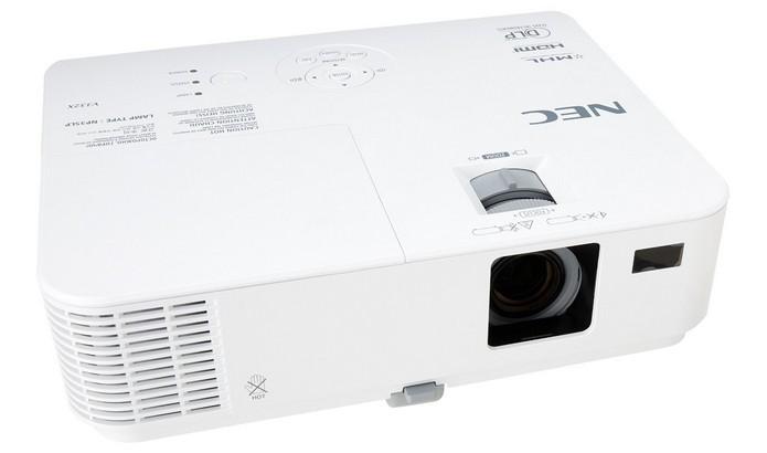 NEC M283X tem resolução nativa de 1.024 x 768 pixels (Foto: Divulgação/NEC)
