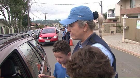 AMTT promove Semana da Educação no Trânsito em Ponta Grossa