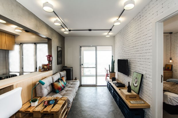 Salas pequenas: 12 ideias para fazer o espaço render (Foto: Divulgação)