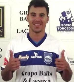 Leryelton, de 25 anos, estava no Icasa-CE (Foto: Altieris Junior/Rio ClaroFC)