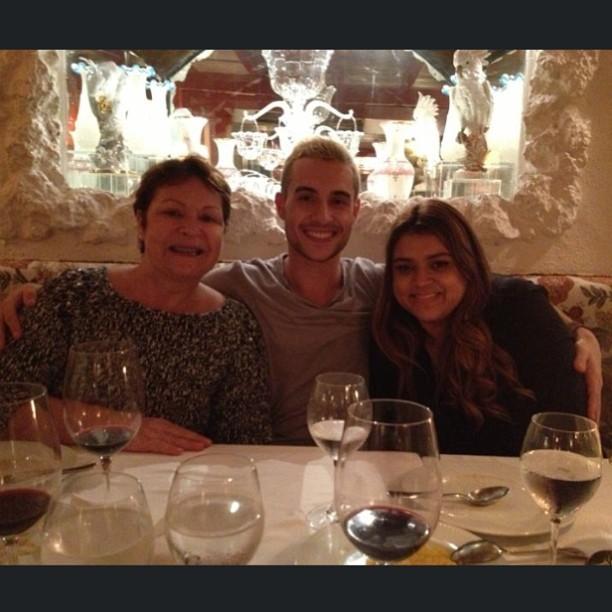 Preta Gil, Thiago Tenóri e mãe (Foto: Instagram / Reprodução)