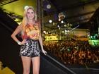 Climão! Bárbara Evans se recusa a posar com ex-BBB Leticia em Salvador