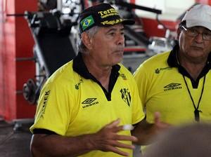 Ricardo Estrade técnico do Castanhal (Foto: Ascom/Castanhal)