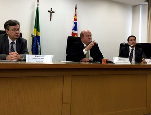 Nelson Sampaio Marcelo Milani Otavio Garcia Promotores do Ministério Publico de São Paulo