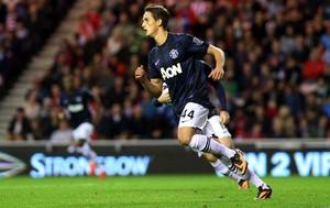 Adnan Januzaj manchester united  gol sunderland (Foto: Agência Reuters)