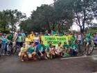 Protestos reúnem manifestantes contra Dilma e PT no Tocantins