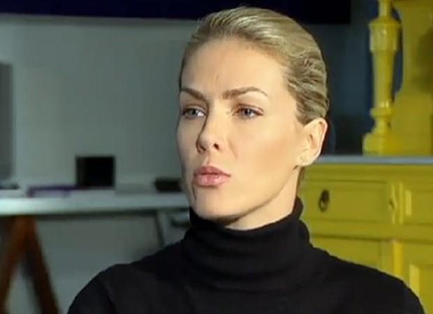 Ana Hickmann após atentado