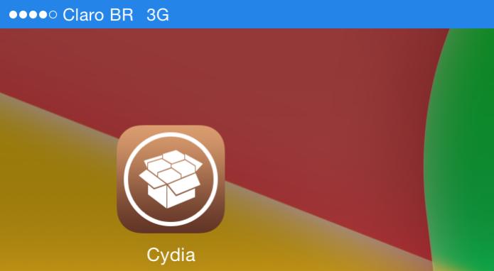 Executando o Cydia pela primeira vez depois do jailbreak (Foto: Reprodução/Edivaldo Brito) (Foto: Executando o Cydia pela primeira vez depois do jailbreak (Foto: Reprodução/Edivaldo Brito))