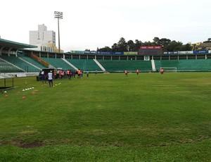 Guarani treino Brinco de Ouro (Foto: Marcello Carvalho)