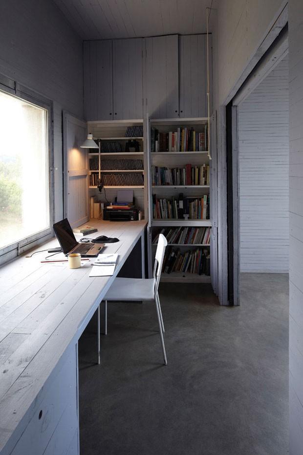 10 escrit rios minimalistas casa vogue casas. Black Bedroom Furniture Sets. Home Design Ideas