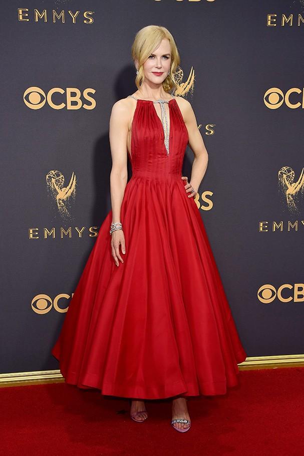 Nicole Kidman veste Calvin Klein (Foto: Getty Images)