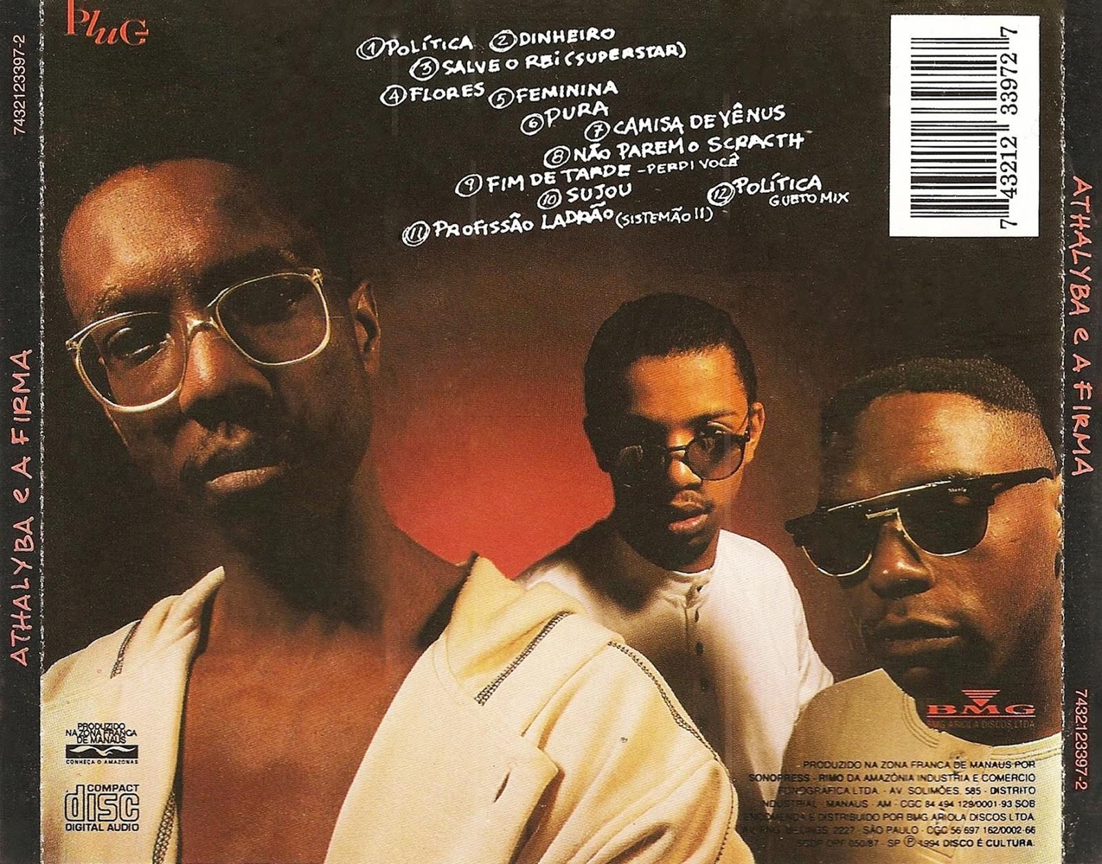 Athaliba e a Firma lanaram 'Poltica' em 1995, em disco que virou um dos maiores clssicos do rap nacional (Foto: Reproduo)