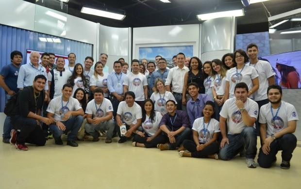 Terceira edição do encontro reuniu profissionais de todos os setores da emissora (Foto: Bruna Cássia/Rede Amazônica)
