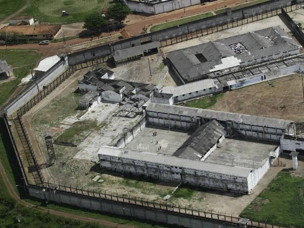 Complexo Penitenciária Americano Presídio Santa Isabel Pará (Foto: Reprodução/TV Liberal)