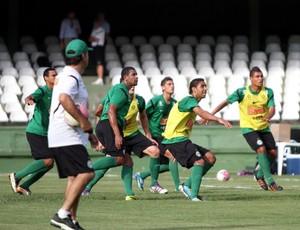 Treino do Coritiba no Couto Pereira, com técnico Marcelo Oliveira (Foto: Divulgação / Coritiba)