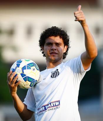 victor ferraz, santos (Foto: Ricardo Saibun/Santos FC)