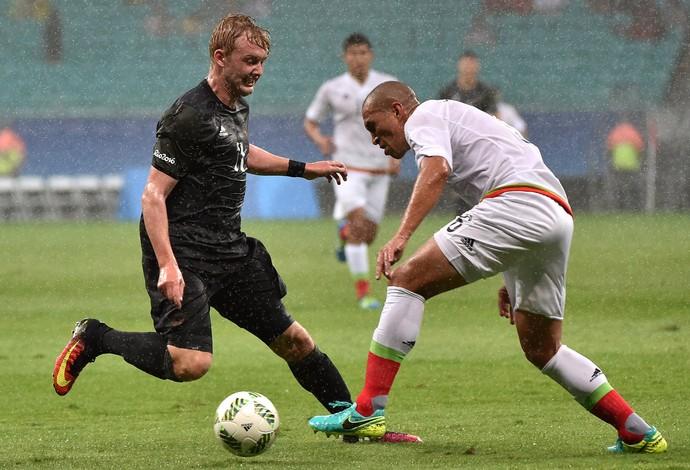 Alemanha x México futebol Jogos Olímpicos (Foto: NELSON ALMEIDA / AFP)