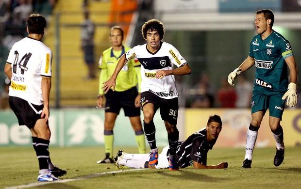 Bruno Mendes comemora gol do Botafogo contra o Figueirense (Foto: Cristiano Andujar / Futura Press)